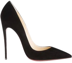 Christian Louboutin Heels Stiletto So Kate Black Pumps