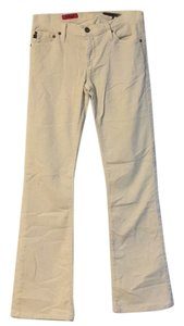 AG Angel Cream Cords Boot Cut Jeans
