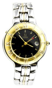 Fendi * 920G Two-Tone GMT Stainless Steel Ladies Watch