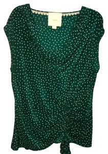 Maeve Top green, white
