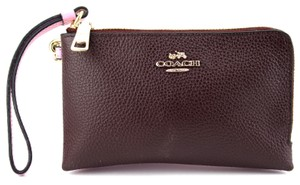 Coach Wristlet in Pink, Purple