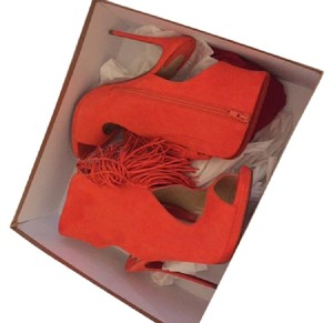Christian Louboutin Otoka Orange Boots