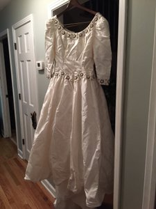 CHRISTOS Handmade Dress From Trunk Show At Saks Fifth Avenue In Atlanta Wedding Dress