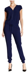 Vince Jumpsuit Romper Top Navy