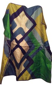Maggy Rouff Maggy Rouff Paris made in France bright silk scarf