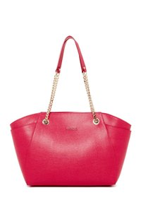 Furla Julia Chain Fuschia Tote in Pink