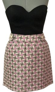 Vineyard Vines Skirt pink and gray