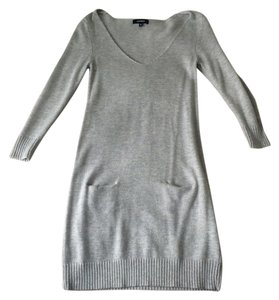 Express short dress Gray Sweater on Tradesy