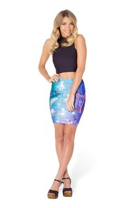 Blackmilk Pencil Skirt Multicolot