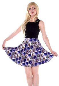 Living Dead Clothing Skirt Multicolor