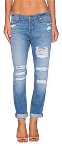 Hudson Jeans Boyfriend Cut Jeans-Distressed