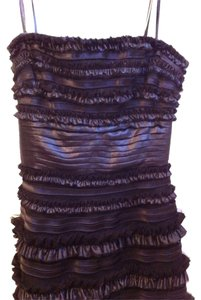 BCBGMAXAZRIA Evening Ruffle Strapless Bcbg Dress