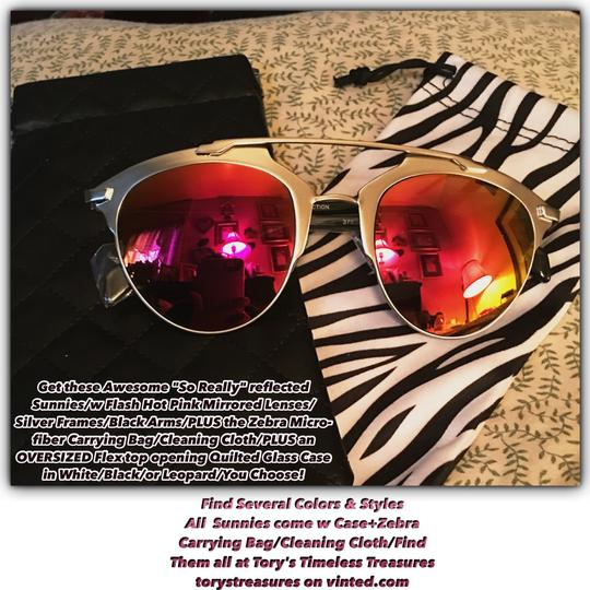Other Fashion Flash Hot Pink Mirrored Lenses Image 3