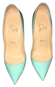 Christian Louboutin Sea water blue Pumps