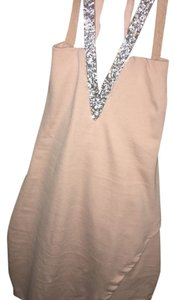 Charlotte Russe short dress Pink/with touch of silver glitter on Tradesy