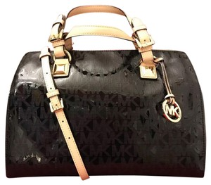 Michael Kors Satchel in BLACK MIRROR