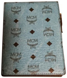 MCM MCM MEMO PAD WITH A PEN And carrying case. AUTHENTIC!