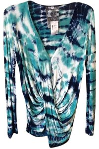 Young Fabulous & Broke Button Down Shirt Tie-Dye