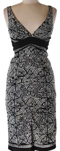 Nicole Miller short dress black white on Tradesy
