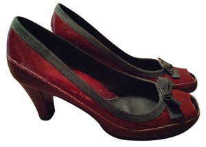 Aerosoles wine/black Pumps