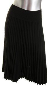 Ohne Titel Intermix Gucci Pleated Skirt Black and Gold