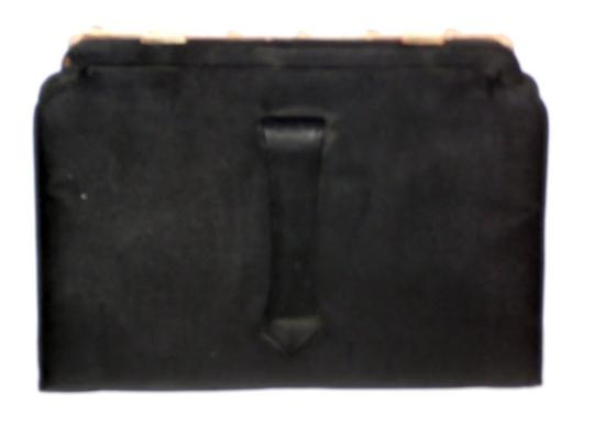 Ingber Vintage Juliart New Years Party Handbag Purse 1940s 1950s 40s 50s Classic Black and Gold Clutch