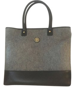 Tory Burch Tote in Black Grey