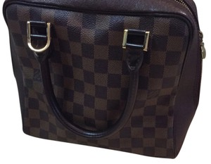 Louis Vuitton Satchel in brown Damier Check