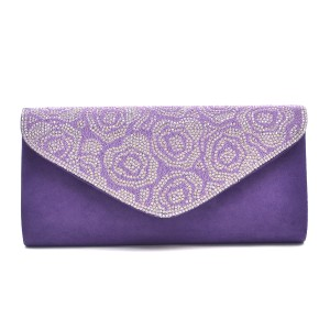 Other Classic The Treasured Hippie Affordable Classy Purple Clutch