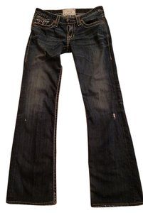 Big Star Denium Jean Straight Leg Jeans-Distressed