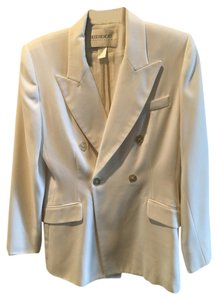 Hugo Buscati White Double Breasted Pants Suit