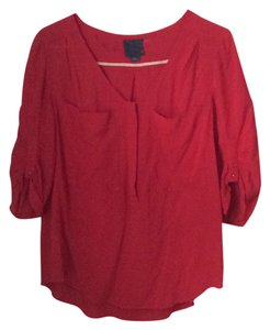 Maeve Top red