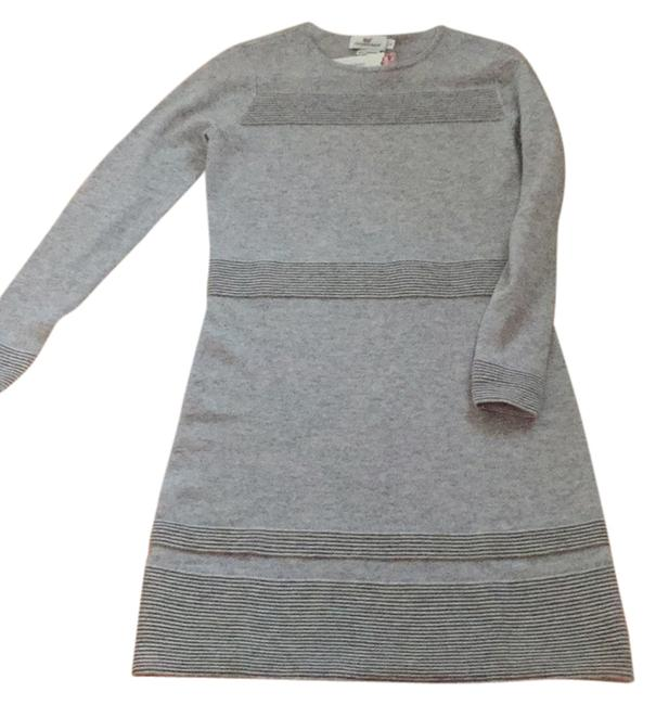 Item - Gray Ottoman Sweater Above Knee Short Casual Dress Size 2 (XS)