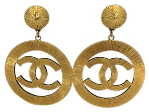 Chanel Chanel Vintage Sunburst Earrings