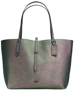 Coach Market Irredescent Market Tote in Hologram