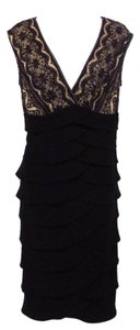 Jessica Howard Sleeveless Sheath Lace Dress