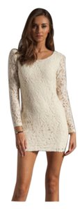 Blaque Label Lace Mini Micro-mini Bodycon Dress