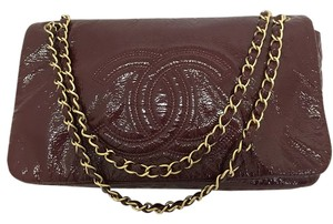 Chanel Rare Patent Leather Shoulder Bag