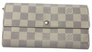 Louis Vuitton Sarah Damier Azur long wallet