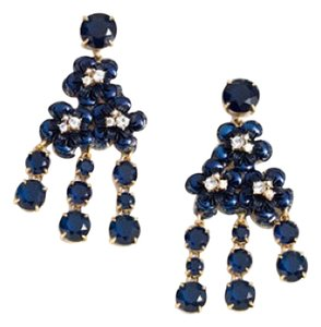 J.Crew Midnight Floral Earrings