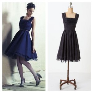 Anthropologie Retro Tulle Midi Anthro Dress