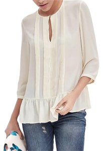 Banana Republic Top crema