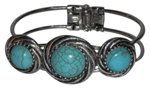 Other 3 Circle Turquoise Cuff Bracelet.