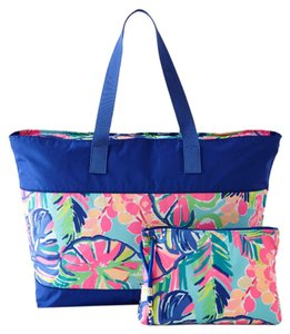 Lilly Pulitzer Multi Exotic Garden Beach Bag