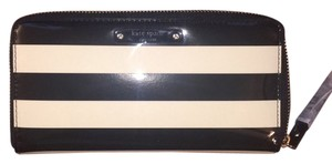 Kate Spade Black And Ivory Clutch