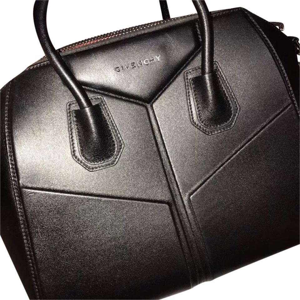 25c8b58cc4 Givenchy Limited Edition 3d Medium Antigona Rare Black Calfskin Satchel