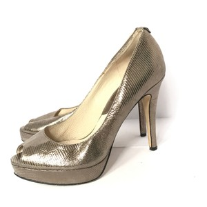Michael Kors metallic Platforms