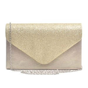 Other Classic Affordable The Treasured Hippie Vintage Metallic Gold Clutch
