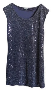 Express Newyearseve Party Sequin Dress