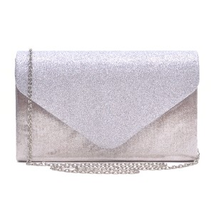 Other Classic Affordable The Treasured Hippie Vintage Metallic Silver Clutch